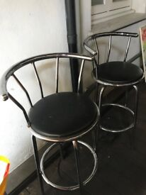 2 Stools for sale - pickup only
