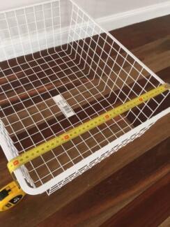Storage Basket wire -White