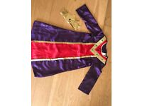 Children's Nativity King Dressing up Outfit - Size 5-6