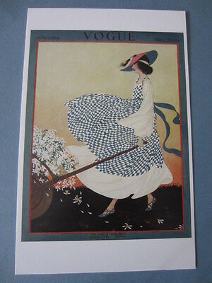 MINT POSTCARD VOGUE COVER RITA SENGER JUNE 15 1915