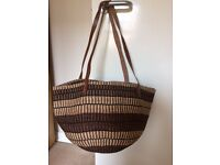 Raffia/Straw Handbag/Beach bag