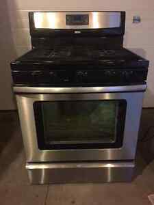 "30"" Stainless Steel Gas Range/Oven"