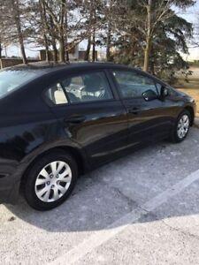 2012 Honda Civic LX, still has extended warranty!