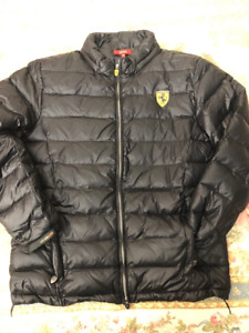 Ferrari Limited Edition Duck Down Winter Jacket Milano Series
