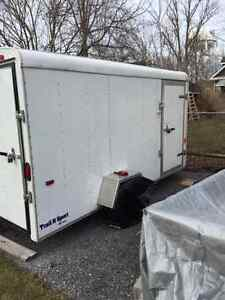 V-NOSE ENCLOSED TRAILER