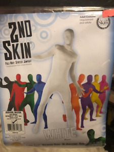 New 2nd Skin Body Suit - White