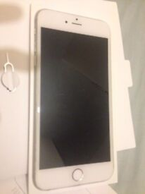 Good Condition iPhone 6 Plus Silver 16GB on EE, ASDA, BT, Co-operative & Virgin Mobiles