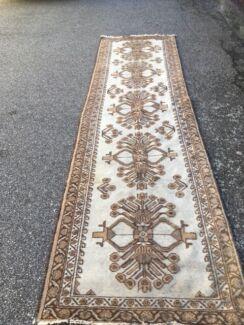 Rug Persian Runner Belouchi Pure Wool Hand Woven In Vgc