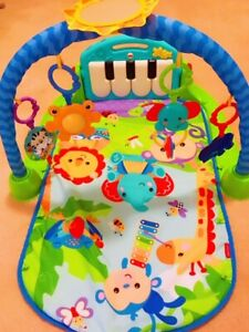 Fisher-Price Kick and Play Piano Gym - LIKE NEW!