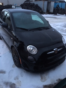 2014 Fiat 500 Abarth only 7500$