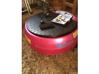 BARELY USED VIBRATION PLATE
