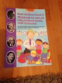 How Children Learn 4 - Thinking on Special Educational Needs and Inclusion