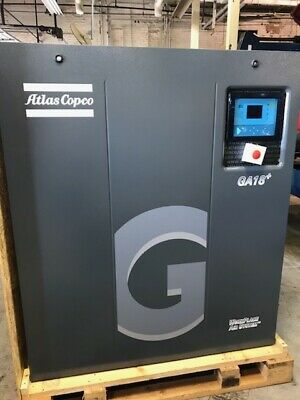 25hp Ga18 Atlas Copco Rotary Screw Air Compressor