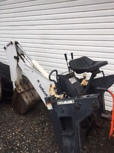 709 Bobcat Backhoe Attachment