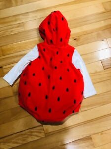 Carter's Strawberry Halloween Costume - 6-9 Months