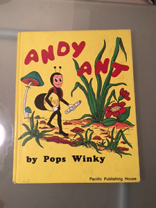 Andy Ant (Hardcover) by Pops Winky Children's Picture Book Edmonton Edmonton Area image 1