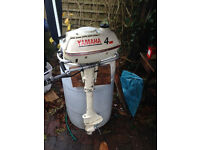 Yamaha 3.5 hp Longshaft Outboard Engine