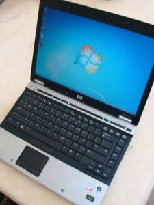 HP elitebook Laptop Intel 2.53GHz 4GB RAM 500GB HD Win7 Office