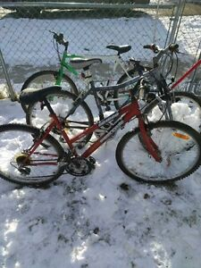 4 Bikes for Sale - 1 gets all