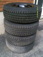 215 70 15 winter tires on Dodge Caravan Rims