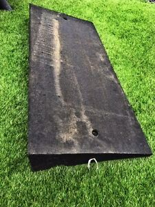 6 Industrial Rubber Curb Ramps