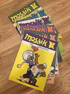 Mosaik Abrafaxe – Jahrgang 1984, Nr. 1,2,7,8,9,10