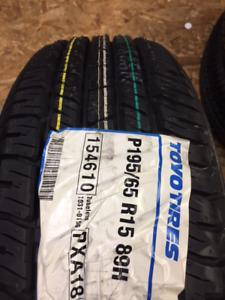 4 P195/65/15 Toyo PXA18 all season tires installed SALE $450