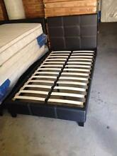 Brand New Paradise Pu Leather Single Bed + Dreamtime Mattress Pac Seven Hills Blacktown Area Preview