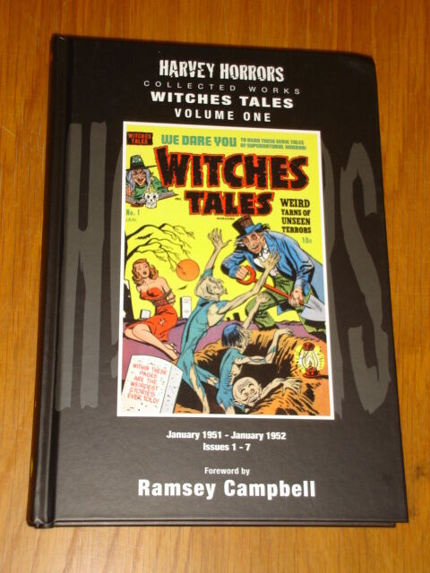 WITCHES TALES VOL 1 HARVEY HORRORS COLLECTED WORKS #1-7 HB GN 9781848632080 <