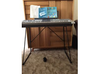Yamaha electronic keyboard and synthesiser model PRS-E403 with stand. Excellent condition.
