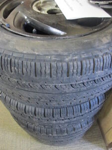 Set of 4 - 195/60R14 - Federal with Aluminum Rims off Acura -