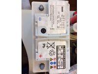 FREE BMW E46 Car battery 80Ah