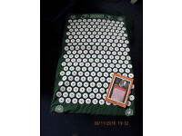 Shakti Acupressure mat. As new. Instructions in Swedish, but there is a web site.