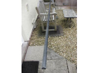 Mast for sailboard. One piece 4.5 metres long.