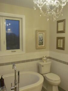 STANDARD BATHROOM RENOS IN 6 DAYS OR WILL PAY THE HST Kingston Kingston Area image 2