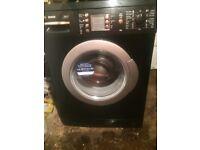 £120.89 Bosch excel black washing machine+7kg+1400 spin+3 months warranty for £120.89
