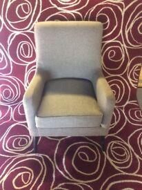 New Fabric Armchair