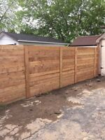 Fence -  deck repair. Replacing fence posts repair decks/gates