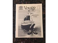 New! Tommy Thompson SS Central America Voyage 12 Magazine Summer 1992