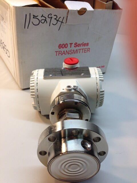ABB Pressure Transmitter 624EGSL1010G8111 w/ Ametek SST diaphragm 2100-42000 kPa