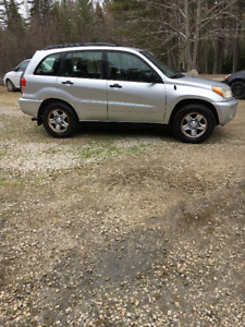 2002 Toyota RAV4 5 SPEED LAST TIME BEING REDUCED $2400!!!