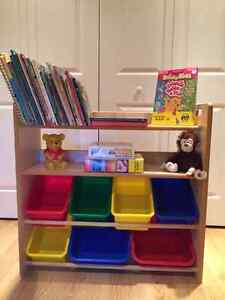 Toy and Book Storage Unit by Disney