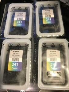 Canon printer ink CL-241 - Brand new - 4 PACK  Save over $80 - Free shipping