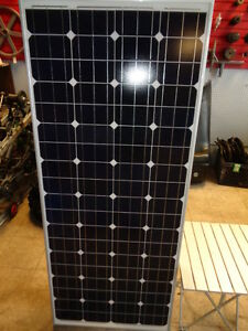 SOLAR PANEL 200W BRAND NEW WITH CHARGER GREAT FOR RV/CABIN ETC..