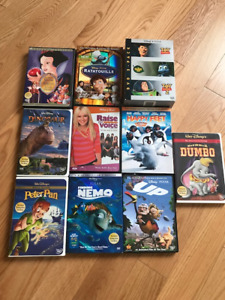 Movies GALORE - DVDs - DISNEY/PIXAR