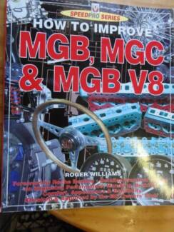 MGB MGC V8 ENGINE HOW TO BOOKS SPEEDPRO c200 Perth Perth City Area Preview