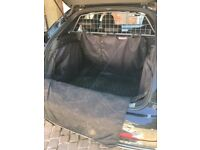 Dog guard, protective cover and rubber mat for Audi Q3