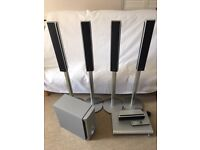 SONY DAV-DZ500F DIGITAL DVD HOME THEATRE SYSTEM AS NEW,TWIN DRIVE SUBWOOFER WITH MANUAL