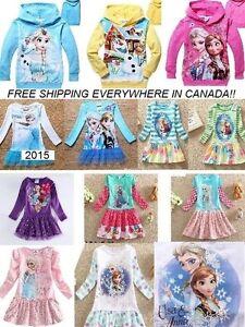 Frozen, Anna & Elsa,Reine Des Neige, ROBES, DRESSES, vêtements West Island Greater Montréal image 7