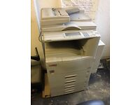 Second hand Lanier LR022 A3 commercial copier,working order, £100, must be able to collect.